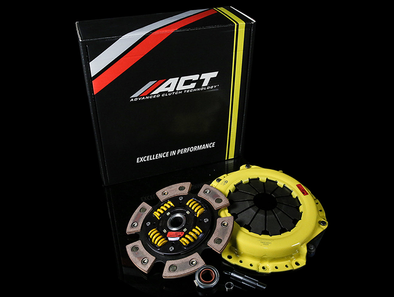 ACT Heavy Duty Clutch Kit w/ Sprung 6 Puck - K-series