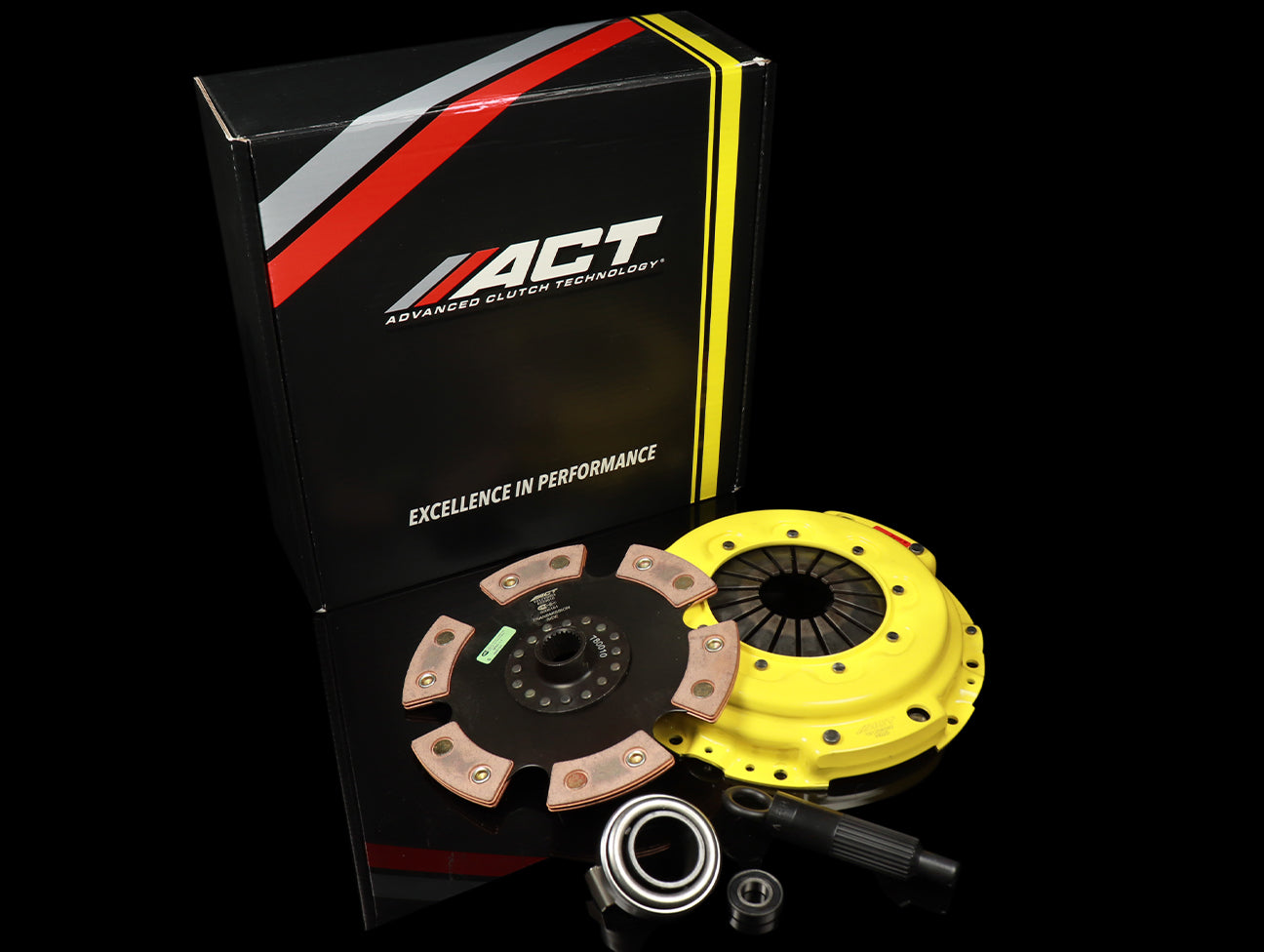 ACT Heavy Duty Clutch Kit w/Unsprung 6 Puck - 00-09 S2000