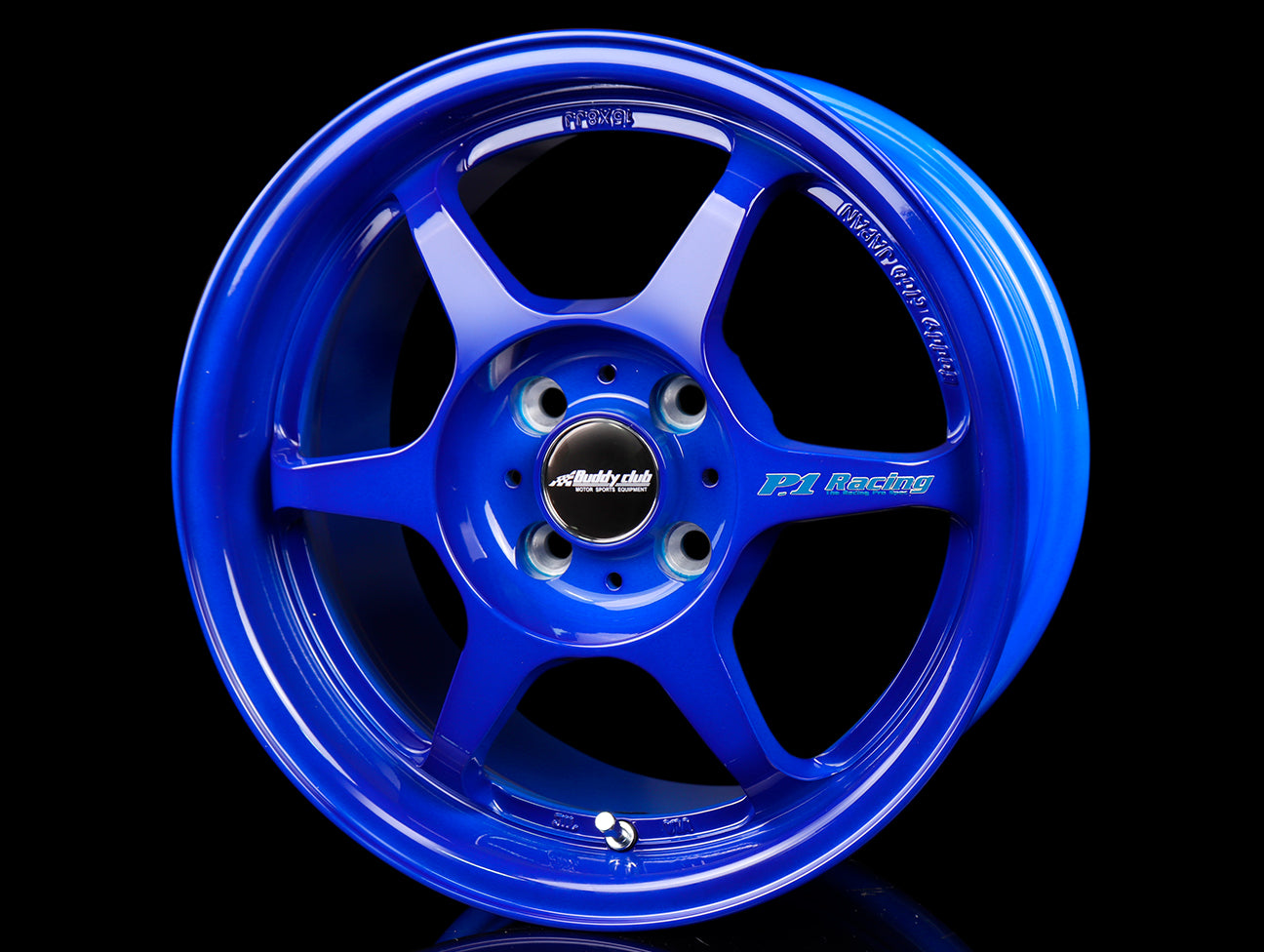 Buddy Club SF Wheels - Mag Blue 15x8 / 5x114 / +32