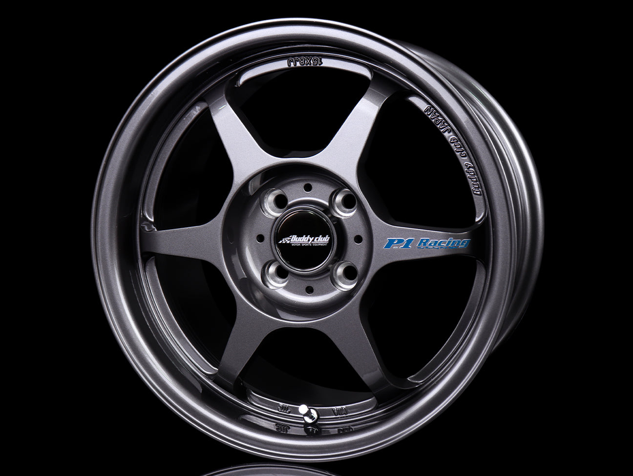 Buddy Club SF Wheels - Gunmetal 15x8 / 5x114 / +32