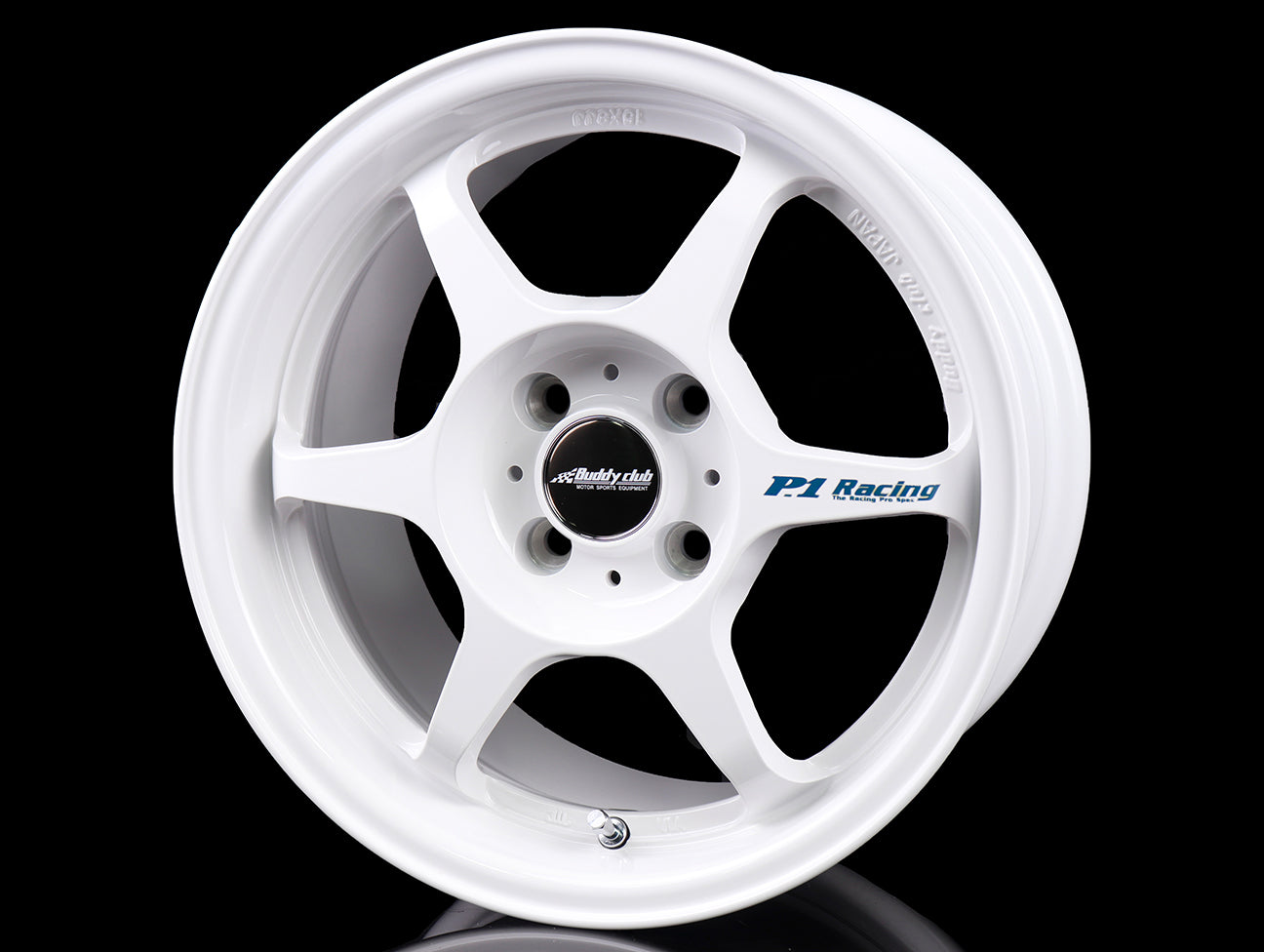 Buddy Club SF Wheels - Champ White 15x8 / 5x114 / +32