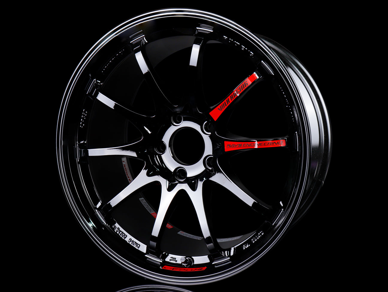 Volk Racing CE28SL Wheels - Gloss Black 18x9.5 / 5x114 / +35