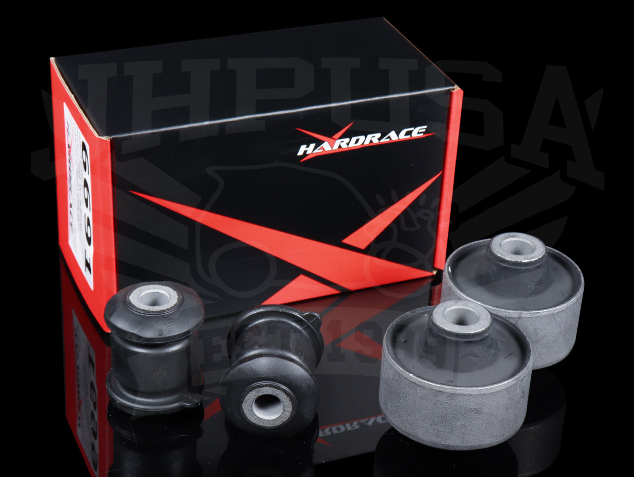 Hardrace Front Lower Arm Bushings (Hard Rubber) - 06-11 Civic