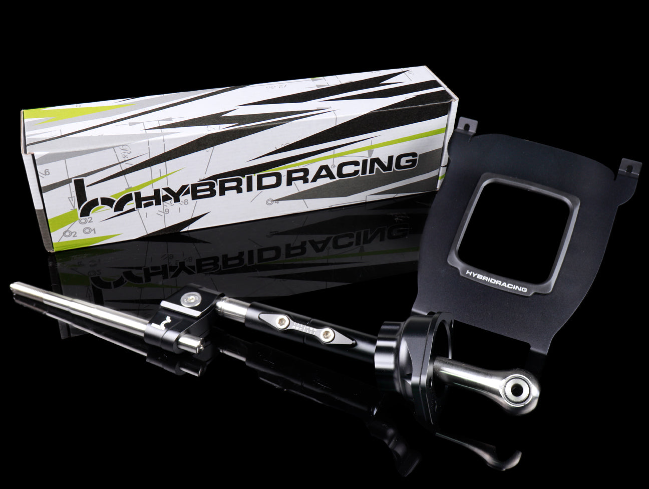 Hybrid Racing B/D Short Shifter & Shift Plate Cover Plate