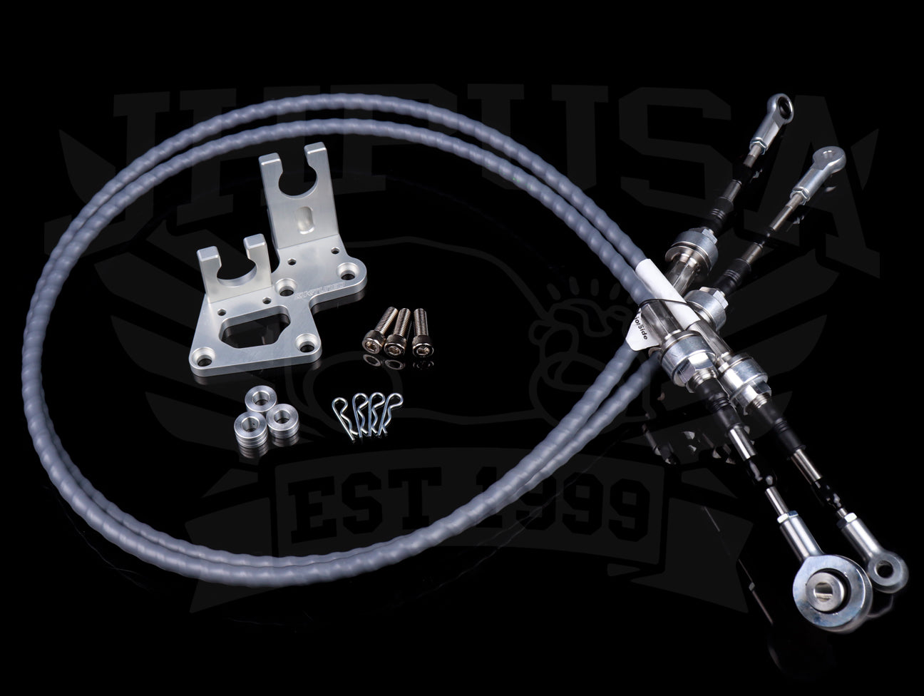 K-Tuned K-series Race-Spec Shifter Cables w/Trans Bracket - RSX Transmission