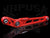 TruHart Drop Rear Lower Control Arms Red - 96-00 Civic