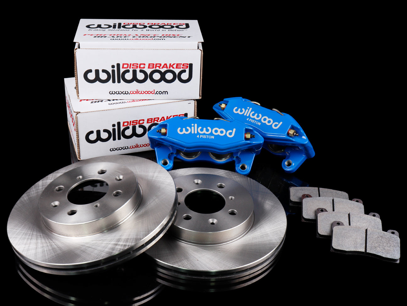 Wilwood DPHA Competition Blue Front Calipers + Free Rotors