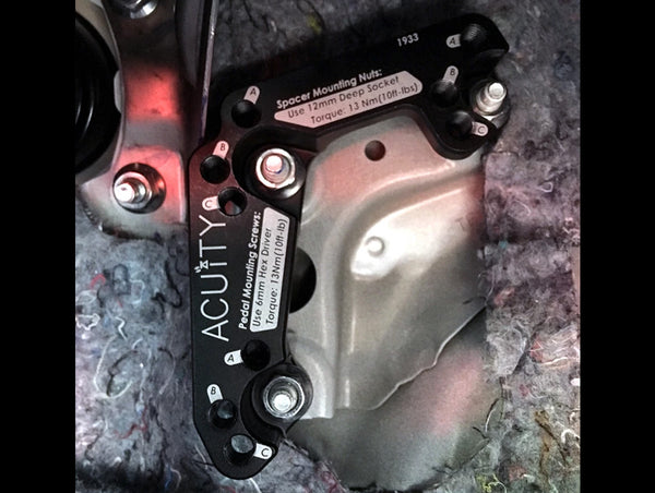Acuity Throttle Pedal Spacer (LHD) - 12+ Civic / 14-17 Fit / 18+ Accord