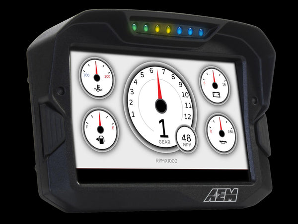 "AEM CD-7 7"" Carbon Digital Racing Dash Color Display"