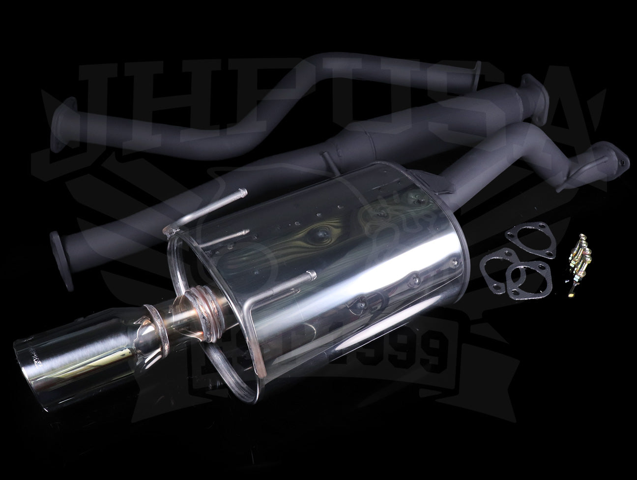 Apexi World Sport 2 Cat-Back Exhaust System - 92-00 Civic Coupe