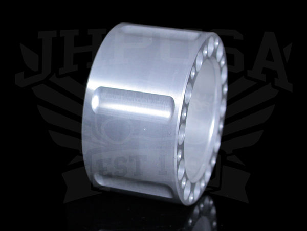 ASR Billet Steering Wheel Adapter - Machined Silver