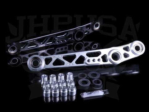 ASR V1.5 Billet Spherical Rear Lower Control Arms - 88-95 Civic / 90-01 Integra