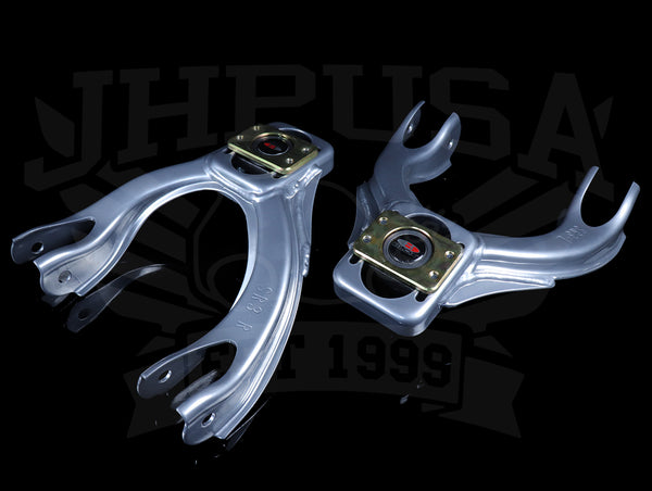 Blox Competition Front Camber Kit - Silver - 92-95 Civic / 94-01 Integra
