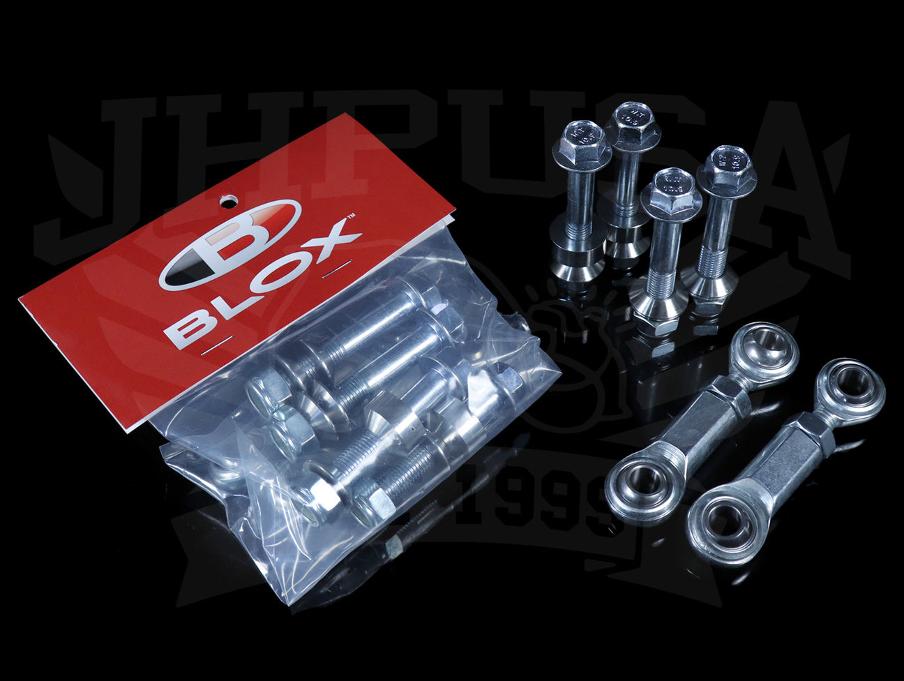 Blox Spherical Rear Sway Bar End Links (Adjustable) - 92-00 Civic / 94-01 Integra