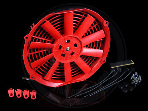 Blox Radiator Red Slim Fan