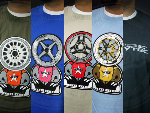Eeffect Wheel Headz Series 1 T-Shirt