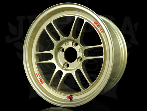 Enkei RPF1 Wheels - Gold 15x8 / 4x100 / +28