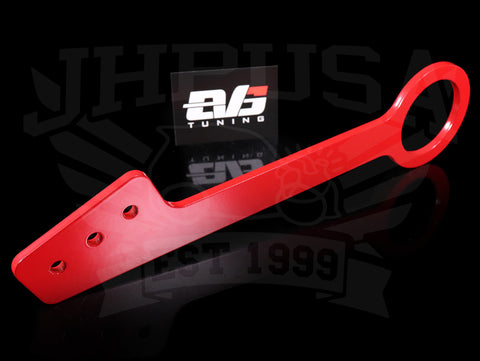 EVS Tuning Red Front Tow Hook - 00-09 S2000 w/Voltex Bumper