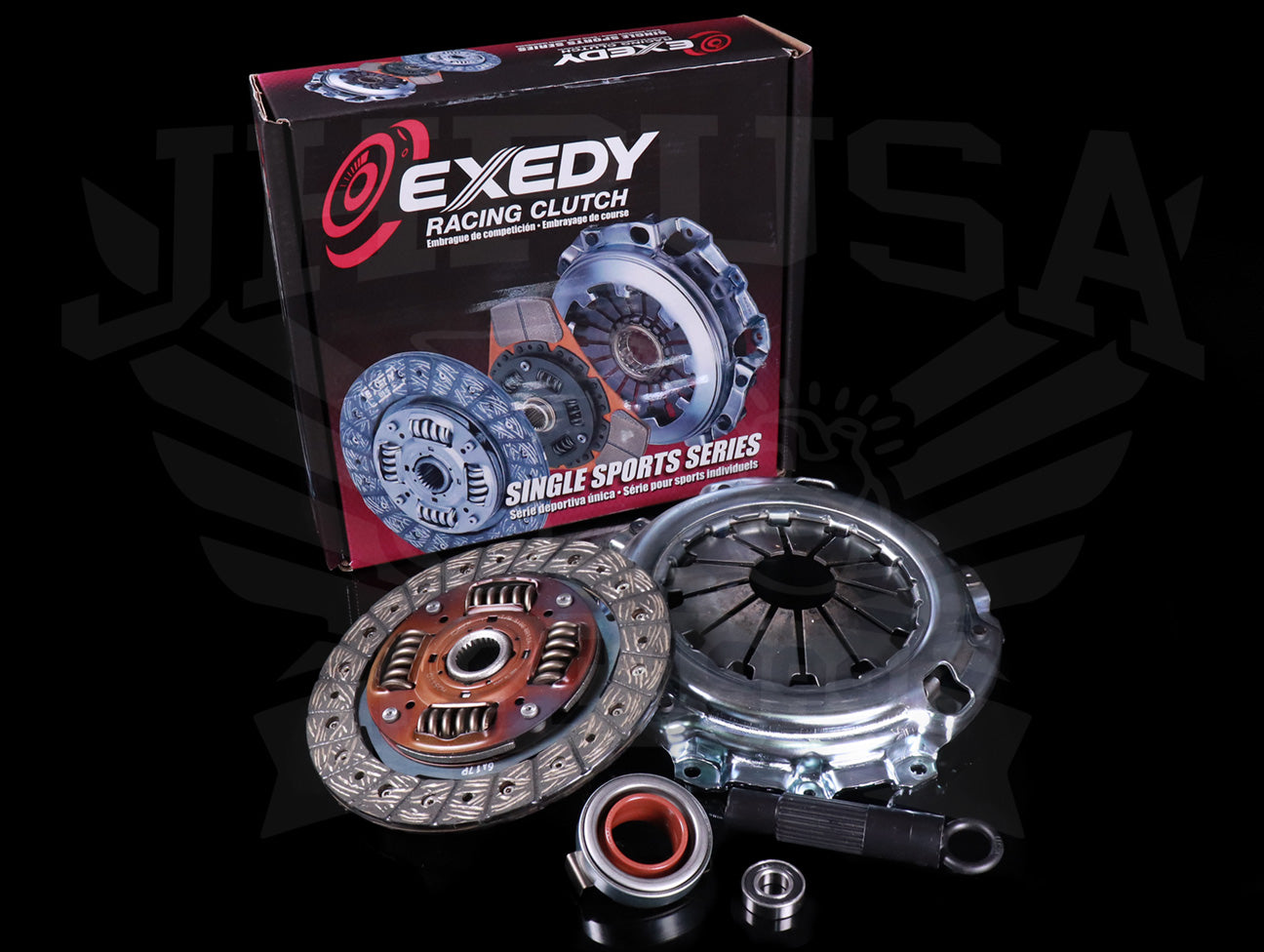 Exedy Stage 1 Organic Clutch Kit - 90-91 Integra (Cable Trans)