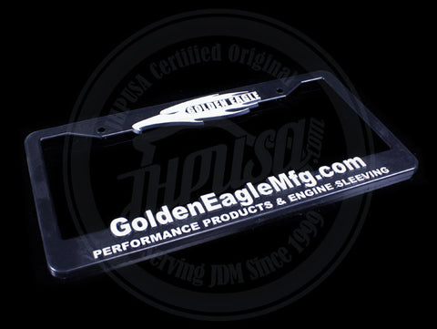 Golden Eagle License Plate Frame
