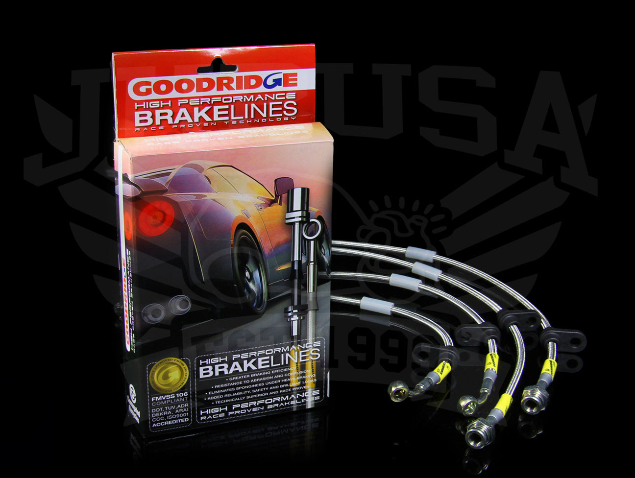 Goodridge G-Stop Brakeline Kit- Subaru