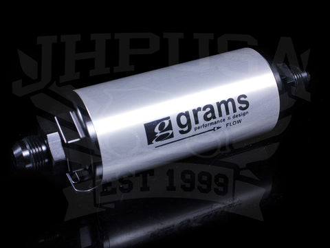 Grams 100 Micron Universal Fuel Filter (-8AN)