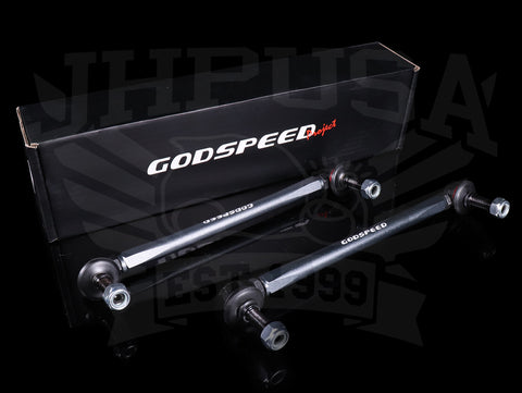 Godspeed Adjustable Front Sway Bar Endlinks - 2016+ Civic