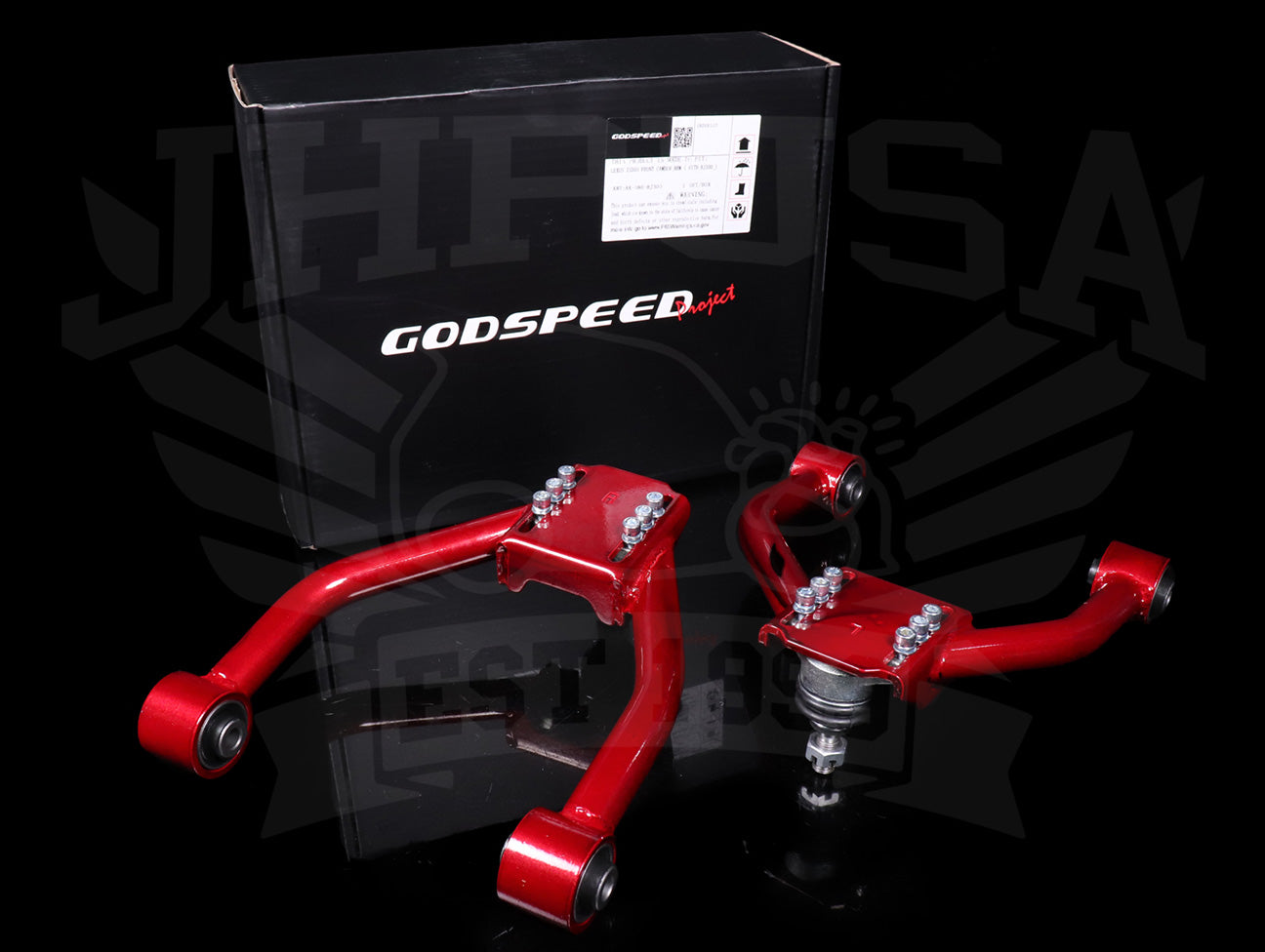 GodSpeed Front Camber Kit - 00-05 Lexus IS300