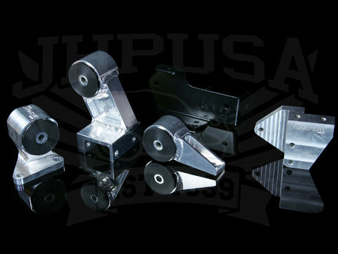 Hasport Billet B-series Engine Mount Kit w/Hydro Trans - 84-87 Honda Civic/CRX