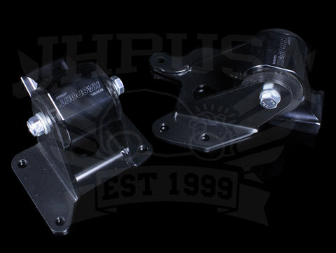 Hasport Billet Black Replacement Mounts - 00-09 S2000