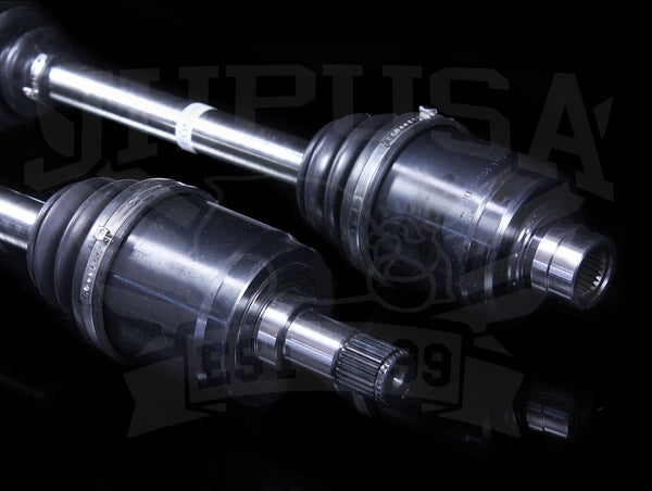 Hasport Chromoly Axles - 92-00 Civic / 92-97 Delsol / 94-01 Integra w/B-series