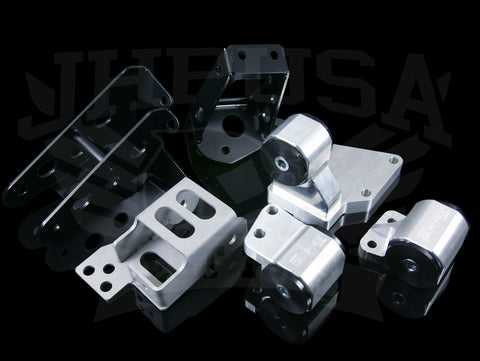 Hasport Billet K-series Engine Mount Kit - 92-96 Prelude