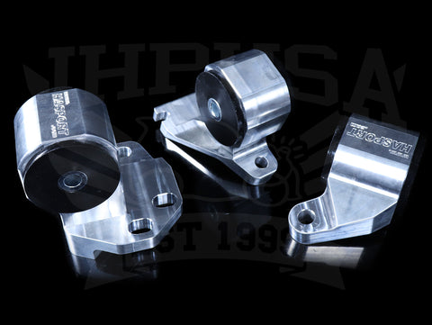 Hasport Billet B-series w/Hydraulic Trans Mount Kit - 90-91 Integra & 92-93 GSR