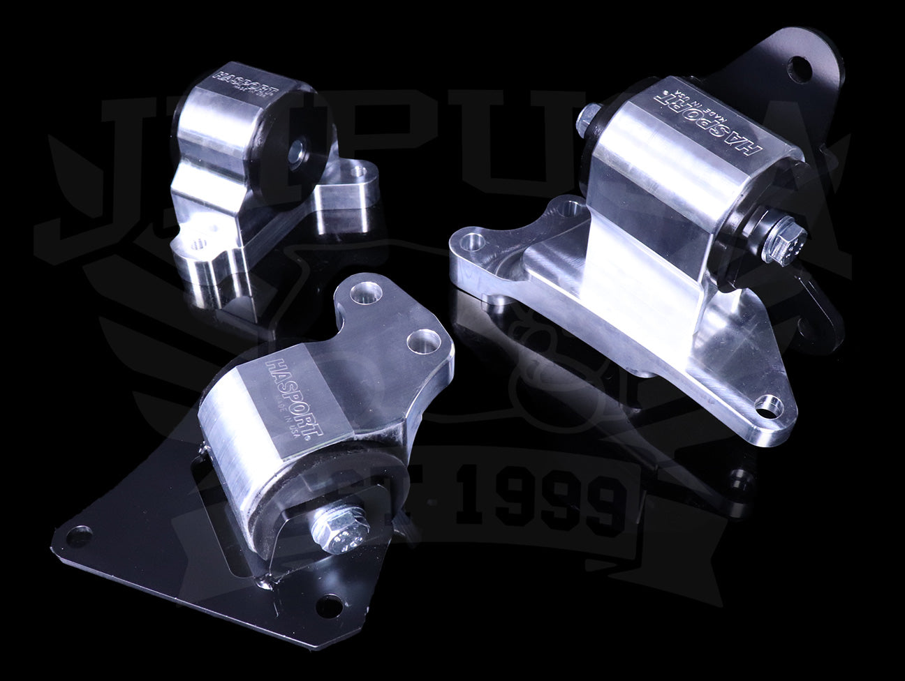 Hasport Billet Replacement Mounts - 02-05 Civic Si  / 02-06 RSX