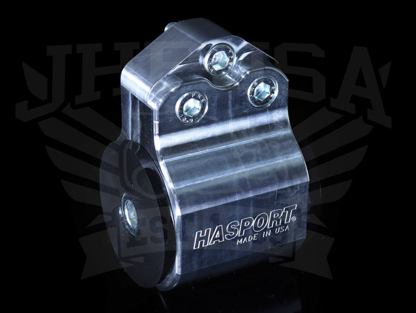Hasport Billet Left Mount (3-post) - 92-95 Civic / 94-01 Integra