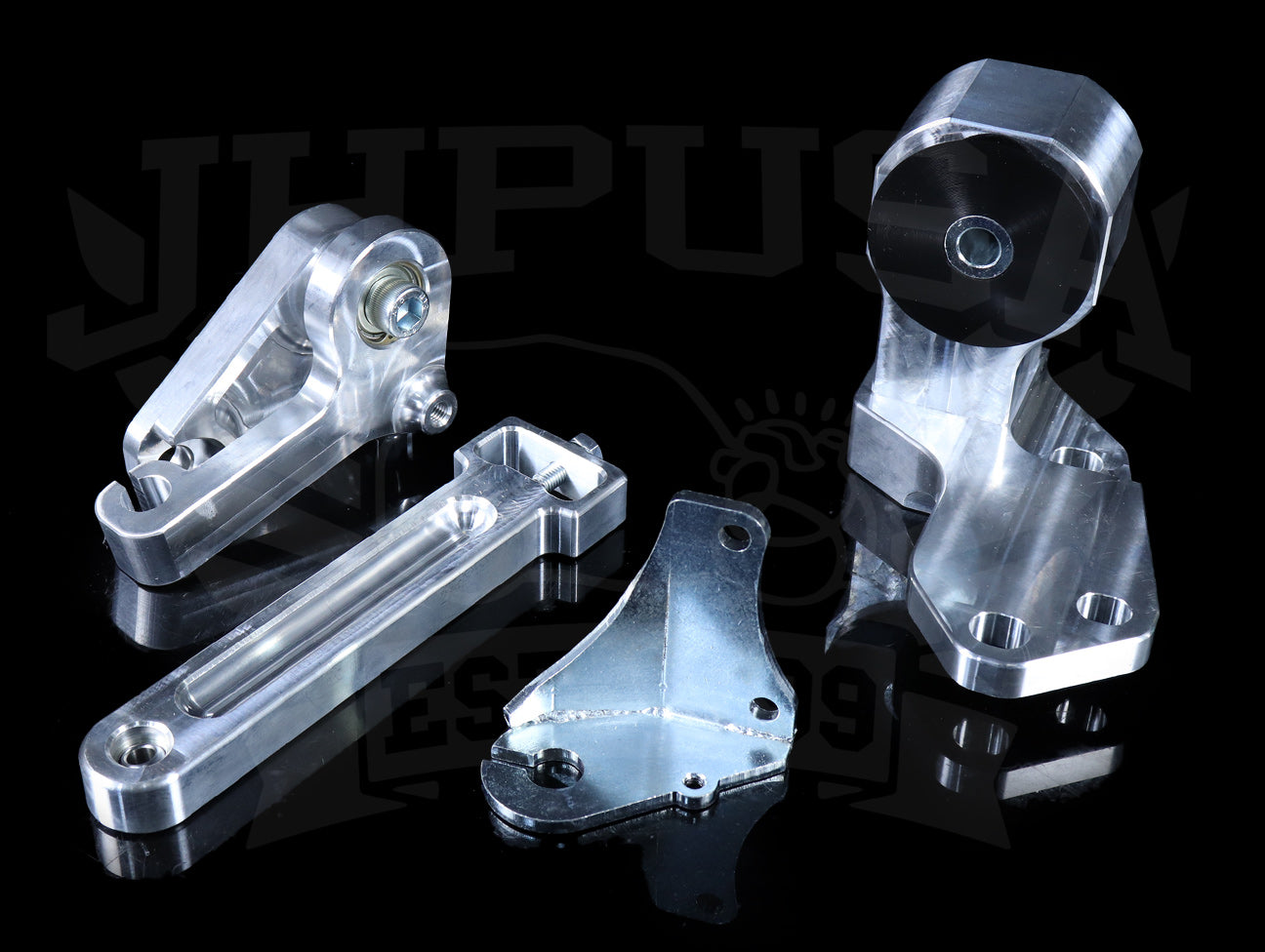Hasport Billet B-series Hydro Trans Mount & Lever Assembly - 88-91 Civic/CRX