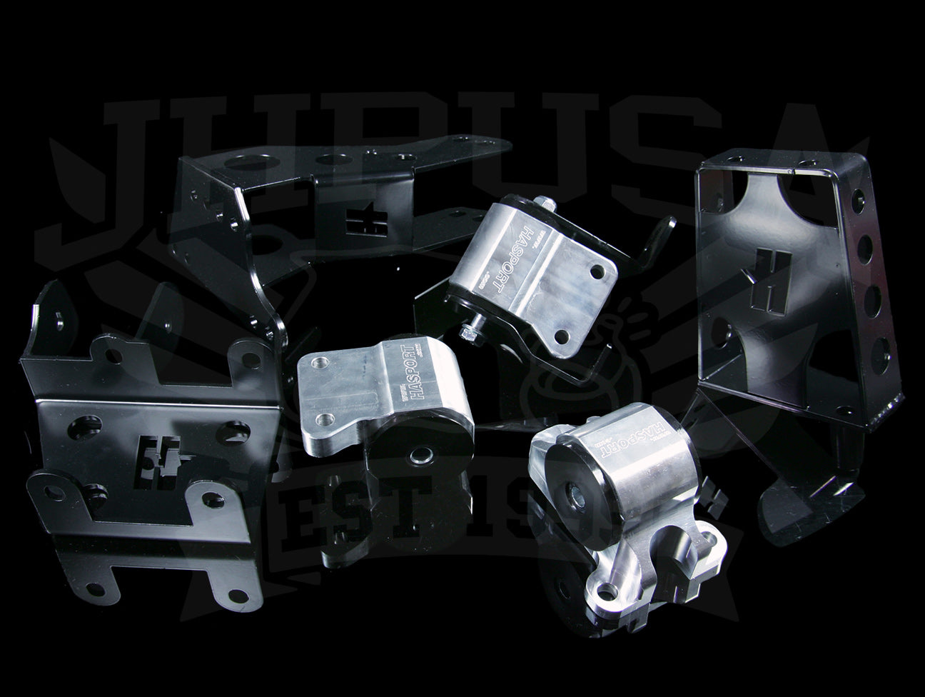Hasport Billet J-series V6 Engine Mount Kit (EKJ1) - 96-00 Civic