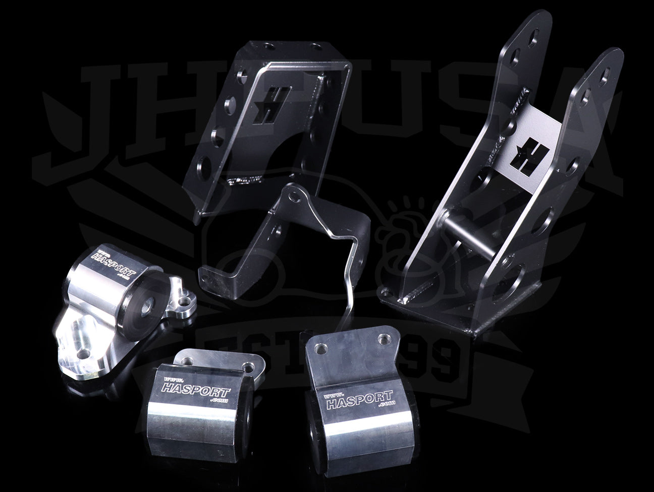 Hasport Billet J-series V6 Engine Mount Kit (EKJ2) - 96-00 Civic