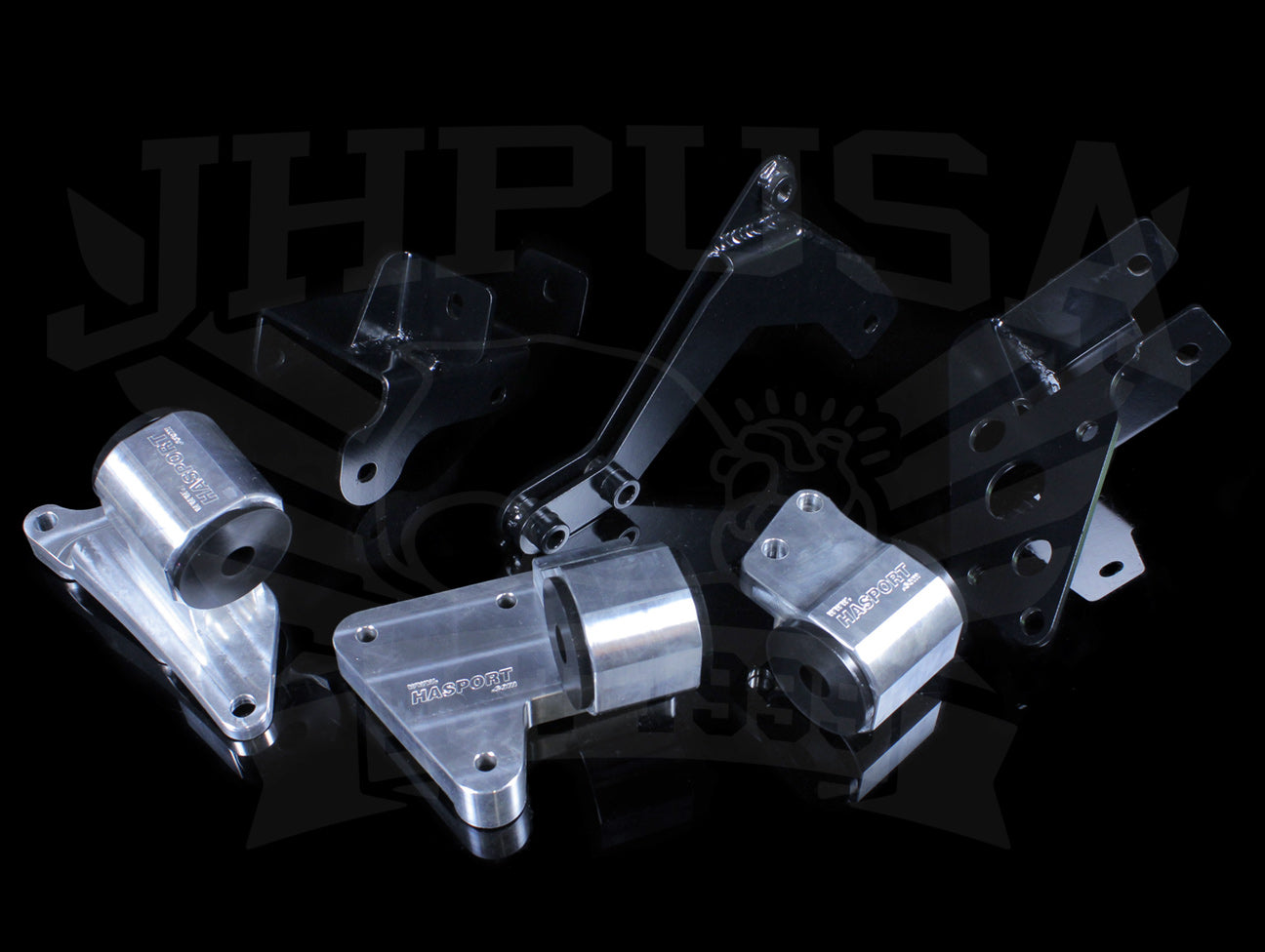 Hasport Billet K-series Engine Mount Kit (EKK1) - 96-00 Civic