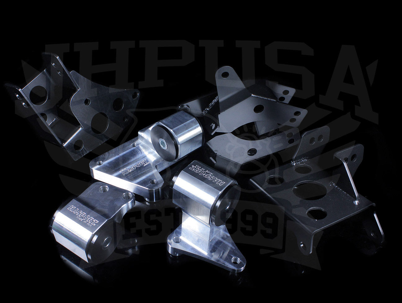 Hasport Billet K-series Engine w/K24 Trans Mount Kit (EKK4) - 96-00 Civic