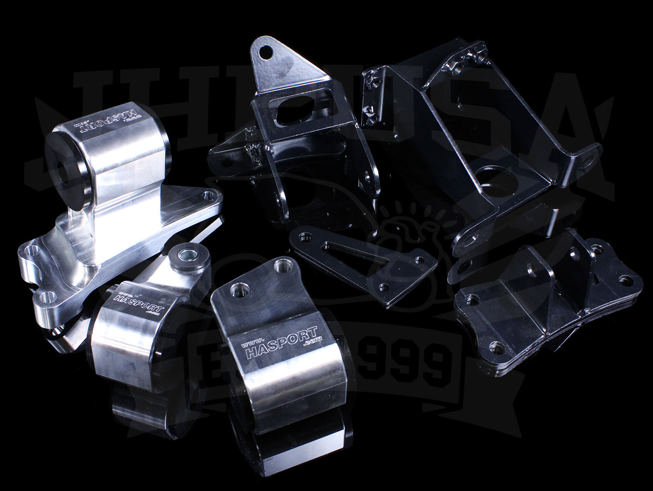 Hasport Billet Replacement Mounts - 2012-15 Civic Si