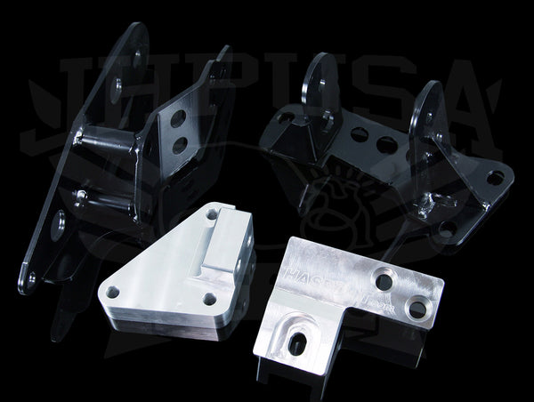 Hasport Billet K24 Engine Mount Kit - 07+ Honda Fit