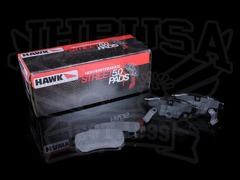 Hawk HPS 5.0 Rear Brake Pads - Honda/Acura