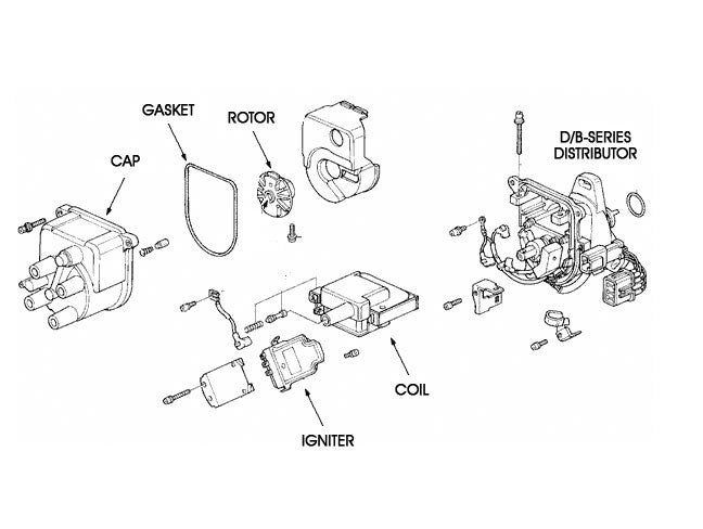 Honda Ignition Coil - B/D-series Engines
