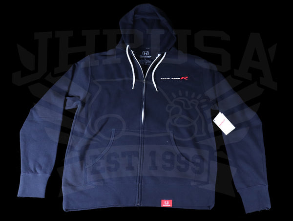 "Official Licensed - Honda Civic Type-R ""FWD Record"" Zip Hoodie"