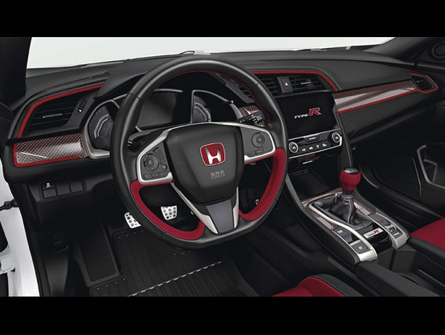 Honda Carbon Interior Trim Set - 2017+ Civic Type-R (FK8)