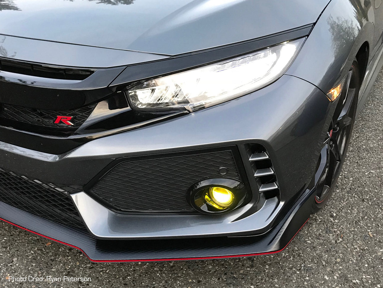 Honda Civic Fog Light Wiring Harness Detailed Schematics Diagram 2012 Engine Led Wire 2016 2017 Type R 04 Si