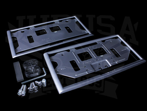 Honda JDM Front & Rear License Frame & Lock Kit