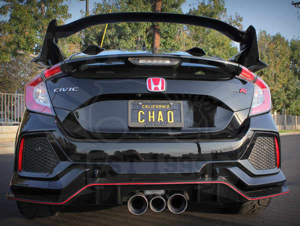Honda 'Type-R' Rear Emblem - 2017+ Civic Type-R (FK8)