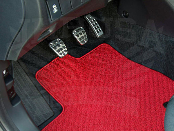 Honda Access Aluminum Sports Pedal Cover Set - 2014+ Honda Fit